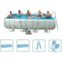 INTEX Ultra Frame Pool 549 x 274 x 132 cm, 28352GN