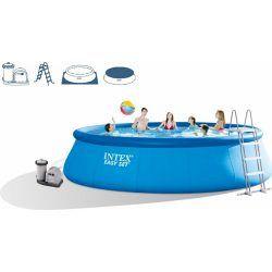 INTEX Easy Set Pool 549 x 122 cm s kartušovou filtráciou 28176GN