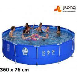 Steel Frame Pool 360 x 76 cm